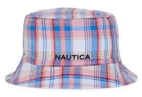 Nautica Reversible Plaid Bucket Hat