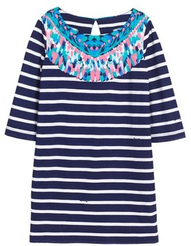 Lilly Pulitzer Girl's Little Bay Stripe Dress