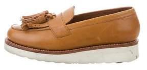 Grenson Tassel Platform Loafers
