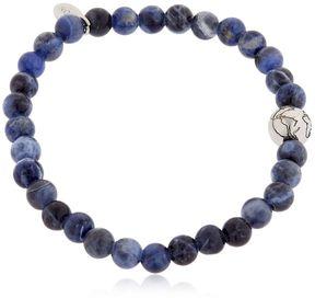 Eton Earth & Sodalite Beaded Bracelet