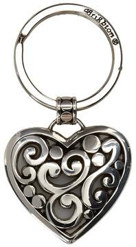 Brighton Contempo Heart Key Fob Pendants Pins