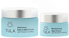 Tula Probiotic Skincare Anti-Aging Face & Eye Cream Duo
