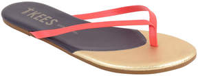 TKEES Contour Leather Sandal