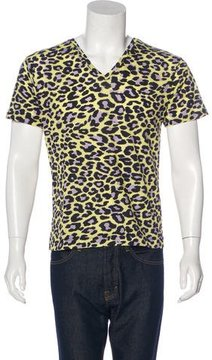 Dries Van Noten Leopard Print T-Shirt w/ Tags