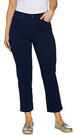 Denim & Co. Color Stretch Denim 5-Pocket CropPants