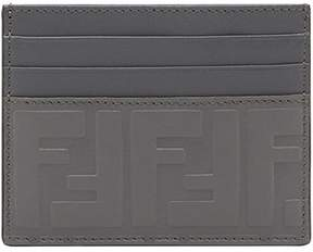 Fendi embossed FF card holder
