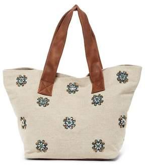 Deux Lux Porto Jeweled Tote Bag