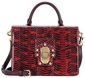 Dolce & Gabbana Lucia snakeskin shoulder bag