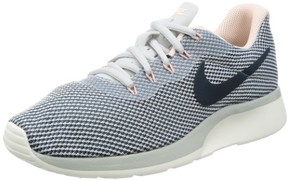 Nike Women's Tanjun Racer Running Shoes (Pure Platinum/Armory Navy/Armory Blue), 7.5 M US Women's