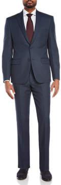 DKNY Tonal Maize Wool Suit