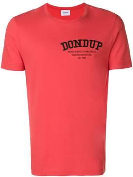 Dondup logo crew neck T-shirt