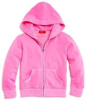 Butter Shoes Girls' Embellished Love Hoodie - Big Kid