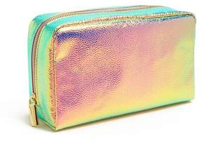 Forever 21 Iridescent Makeup Bag