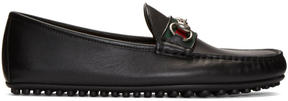 Gucci Black Kanye Driving Loafers