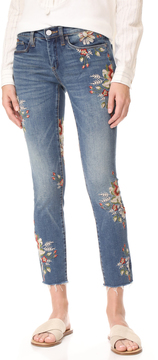 Blank Floral Skinny Jeans
