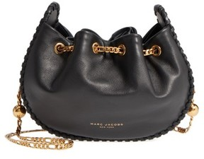 Marc Jacobs Sway Party Leather Crossbody Bag - Black - BLACK - STYLE