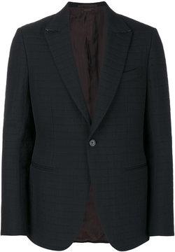 Ermenegildo Zegna square print jacket