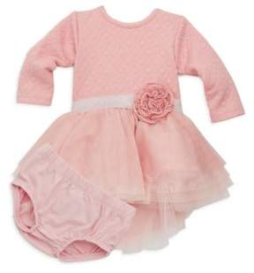 Petit Lem Baby Girl's Two-Piece Twinkle Dress & Bloomers