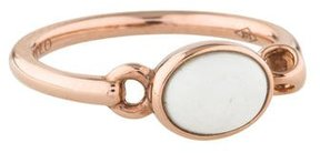Di Modolo Lolita White Agate Ring