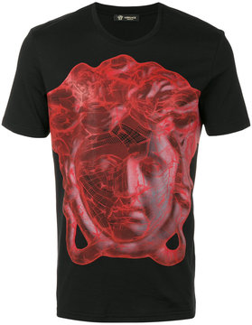 Versace digital Medusa head t-shirt