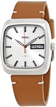 Fossil Rutherford White Dial Men's Watch