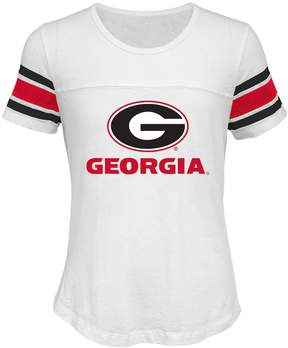 NCAA Girls 7-16 Georgia Bulldogs Team Pride Burnout Tee