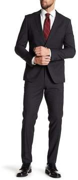 HUGO BOSS Raymond Notch Collar Flat Front Pants 2-Piece Suit