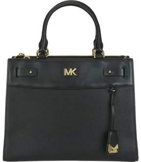 Michael Kors Large Mott Uptown Bag - BLACK - STYLE