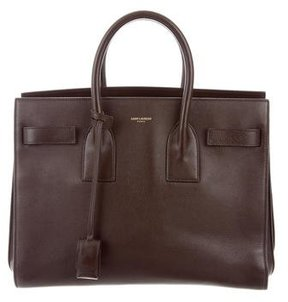 Saint Laurent Small Sac de Jour - BROWN - STYLE