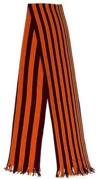 Paul Smith Striped Wool Scarf