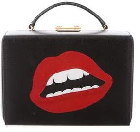 Mark Cross Small Grace Lips Box Bag