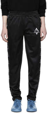 Marcelo Burlon County of Milan Black Kappa Edition Tape Lounge Pants