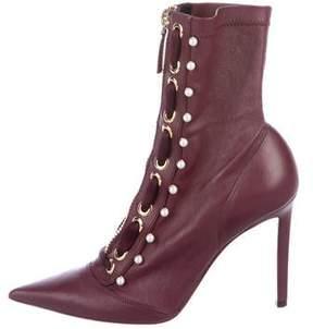 Altuzarra Embellished Pointed-Toe Boots