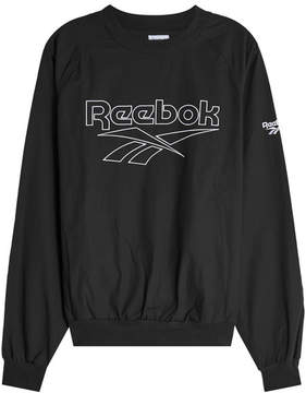 Reebok Printed Cotton Sweatshirt
