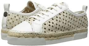 Sonia Rykiel Perforated Velvet Sneaker Women's Shoes