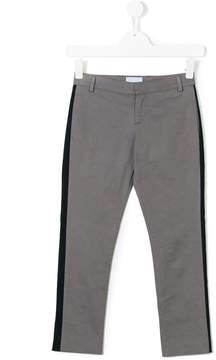 Lanvin Enfant stripe panel casual trousers