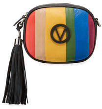 Mario Valentino Valentino By Nina Rainbow Leather Crossbody Bag