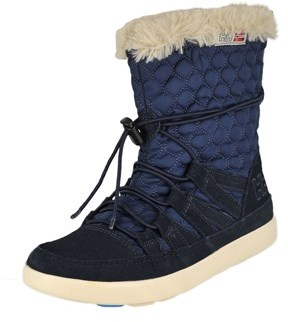 Helly Hansen Womens Harriet Almond Toe Ankle Cold Weather, Deep Blue, Size 7.5.