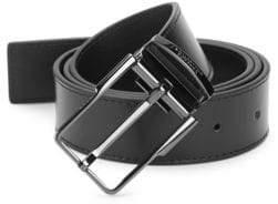 Versace Slim Leather Belt
