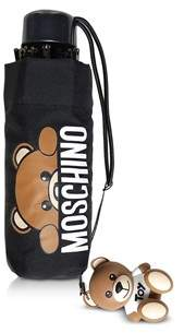 Moschino Women's Black Polyester Umbrella.