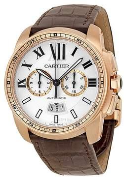 Cartier Calibre de Automatic Silver Dial Men's Watch