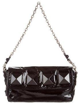 Marc Jacobs Patent Leather Shoulder Bag - BLACK - STYLE