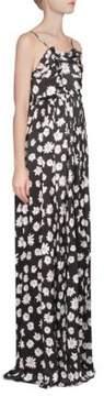 Balenciaga Daisy Silk Maxi Dress
