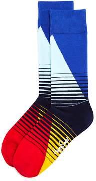 Happy Socks '80s Faded Stripe Socks