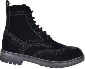 Givenchy Commando Show Lace-up Boots