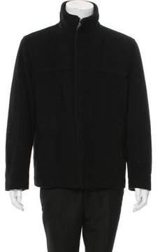 Andrew Marc Wool Zip-Up Jacket