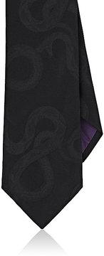 Ralph Lauren Purple Label Men's Snake-Jacquard Mulberry Silk Necktie