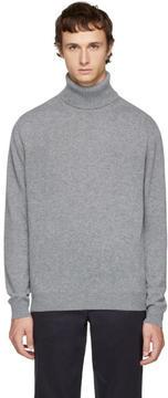 Paul Smith Grey Cashmere Turtleneck