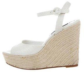 Alice + Olivia Espadrille Wedge Sandals