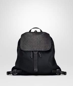 Bottega Veneta Nero Technical Canvas Backpack